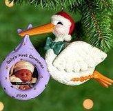 Hallmark Keepsake Ornament Baby's First Christmas Photo Holder Dated 2000 by