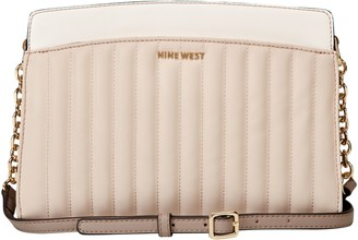 Nine West Lattice Logo Crossbody Bag - Charlize