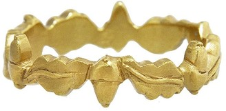 Cathy Waterman Acorn Band - 22K Gold