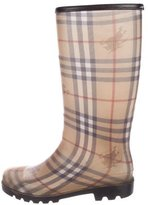 Patterned Rain Boots - ShopStyle