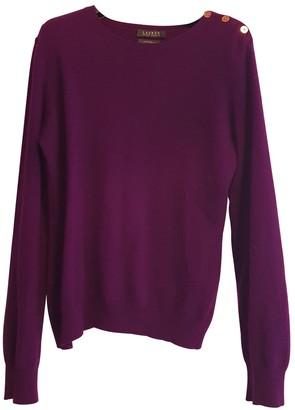 Lauren Ralph Lauren Purple Cashmere Knitwear for Women