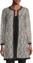 Milly Corded Lace Topper Jacket