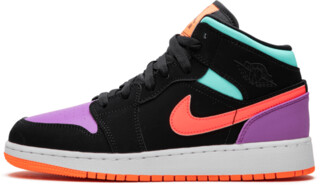 Jordan Air 1 Mid GS 'Candy' Shoes - 3.5Y