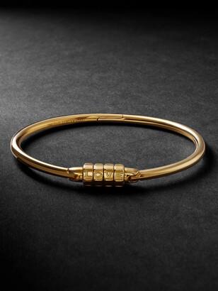 Luis Morais Love Lock Gold Bracelet