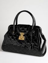 Quilted Patent Lock Shopper