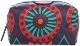 Radley Summer tribes small zip makeup case