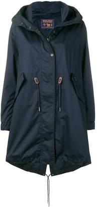 Woolrich oversized hooded coat