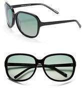 Andrew Marc 62mm Oversized Sunglasses