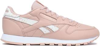 Reebok Classic Perforated Leather Sneakers