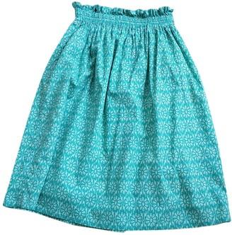 Polder Multicolour Cotton Skirt for Women