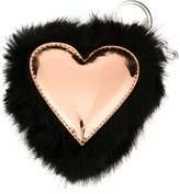 Stella McCartney heart keyring - women - Polyester - One Size