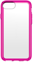 Speck GemShell iPhone 6/6s/7 Case - Clear/Lipstick Pink