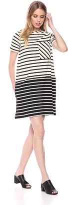French Connection Women's Tim Knit Stripe Dress