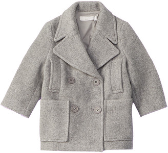 Stella McCartney Eleanor Wool-Blend Coat