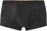 Hugo Boss - Pin-dot Stretch Cotton And Modal-blend Boxer Briefs