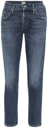 Citizens of Humanity Elsa cropped mid-rise skinny jeans