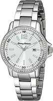 Tommy Bahama Women's 10018326 Island Breeze Analog Display Japanese Quartz Silver Watch