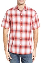 Tommy Bahama Men's Plaid For You Standard Fit Camp Shirt