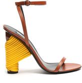 Balenciaga Bistrot leather high-heel sandals