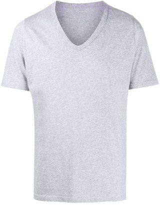 Maison Margiela printed v-neck T-shirt