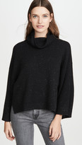 Frame Cashmere Cowl Swing Sweater