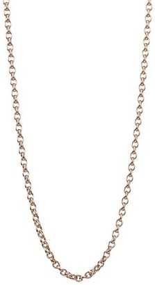 Tamara Comolli 18K Rose Gold Belcher-Link Long Chain Necklace/35""