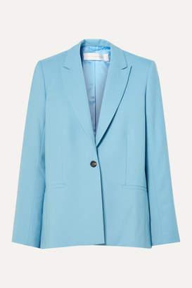 Victoria Victoria Beckham Victoria, Victoria Beckham - Twill Blazer - Sky blue