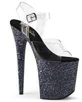 Pleaser USA Women's Flam808lg/c/Bg Platform Sandal