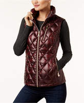 Calvin Klein Metallic Quilted Vest, a Macy's Exclusive Style