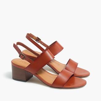 J.Crew Low block-heel sandals