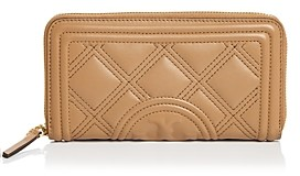 Tory Burch Fleming Quilted Leather Continental Wallet
