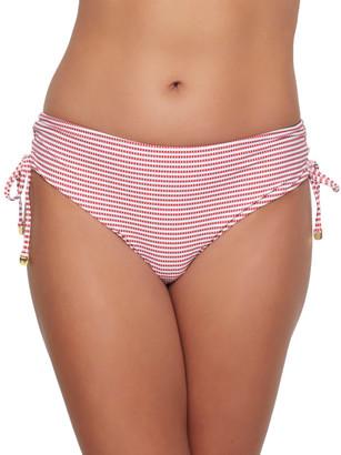 Azura Porter Mid-Rise Side Tie Bikini Bottom