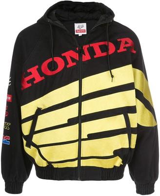 Supreme x Honda Fox zip-up jacket