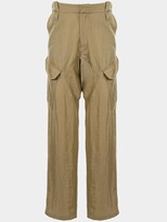 Affix cargo pocket trousers
