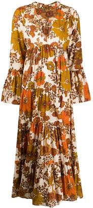 Dodo Bar Or Luba floral print maxi dress