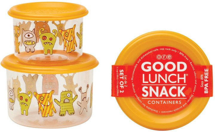 SugarBooger by O.R.E. Good Lunch Snack Set - Hungry Monsters