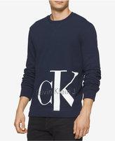 Calvin Klein Jeans Men's Reissue Graphic-Print Logo Sweatshirt