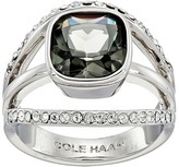 Cole Haan Center Square Stone Pave Bar Ring