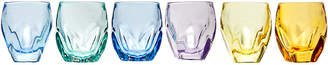 Godinger Set Of 6 Multi Colored Shot Glasses