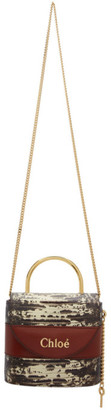 Chloé Brown Small Aby Lock Chain Bag