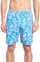 Vineyard Vines Men's Under The Sea Bungalow Swim Trunks