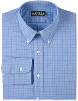 Lauren Ralph Lauren Blue Glen Plaid Dress Shirt