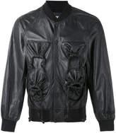 Kokon To Zai gathered pocket bomber jacket