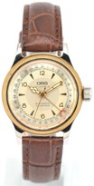 Oris Pointer Date Stainless Steel & Gold Plated Hand-Winding 32mm Womens Watch