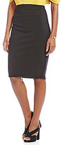 M.S.S.P. Ponte Knit Pencil Skirt