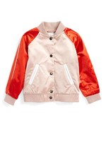 Burberry Toddler Girl's Bartinstead Satin Bomber Jacket