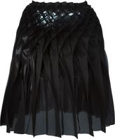 Comme des Garcons Junya Watanabe concertina pleated skirt