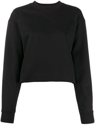 Calvin Klein Jeans Cropped Loose Fit Sweater
