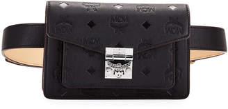 MCM Patricia Monogrammed Leather Belt Bag