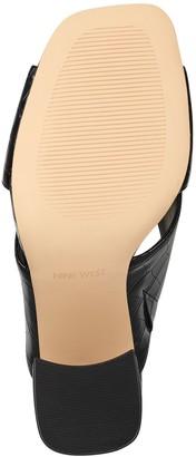 Nine West Crisscross Strap Block-Heel Sandals -Gigi